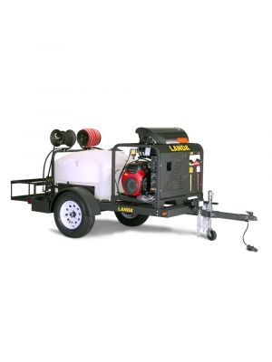 TRV-3500 Customized, Trailer-Mounted Hot Water Pressure Washer System