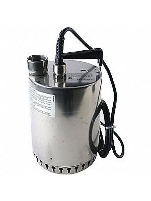 1/2 hp Sump Stainless Steel, AP-12, 120V