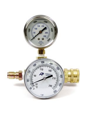 Pressure / Temperature Test Gauges - 5000PSI