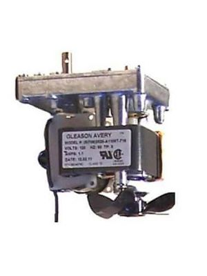 MOTOR, SKIMMER, 6RPM, 120V, 60/50Hz, W/FAN