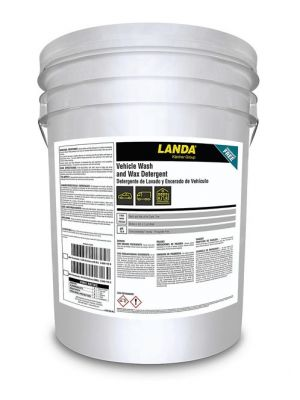 LANDA VEHICLE WASH AND WAX DETERGENT